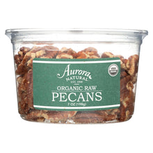 Load image into Gallery viewer, Aurora Natural Products - Organic Raw Pecans - Case Of 12 - 7 Oz.