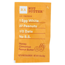 Load image into Gallery viewer, Rxbar - Nut Butter - Honey Cinnamon - Case Of 10 - 1.13 Oz.