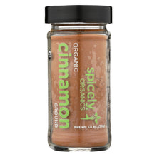 Load image into Gallery viewer, Spicely Organics - Organic Cinnamon - Ground - Case Of 3 - 1.4 Oz.