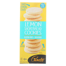 Load image into Gallery viewer, Pamela's Products - Cookies - Lemon Shortbread - Gluten-free - Case Of 6 - 6.25 Oz.