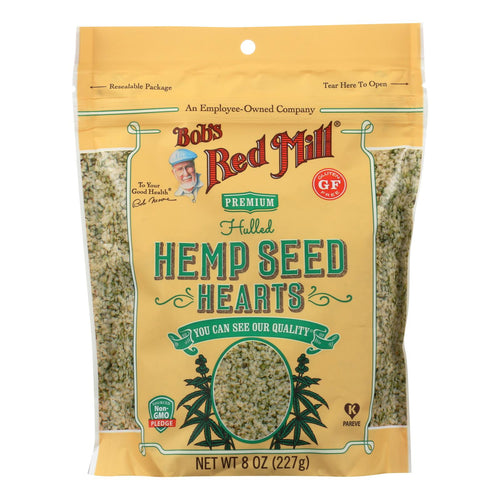 Bob's Red Mill - Hemp Seeds - Hulled - Case Of 6 - 8 Oz