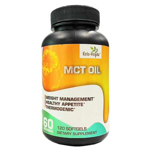 Keto-Veyda - MCT Oil - 120 Softgels