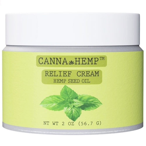 Canna Hemp - Relief Cream - 2oz (56.7g)