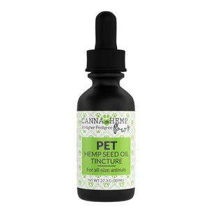 Canna Hemp - Paws Pet Tincture - Regular - 30mL