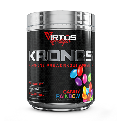 Virtus Nutrition - Kronos™ All-In-One Pre-Workout - Candy Rainbow - 255g (9oz)