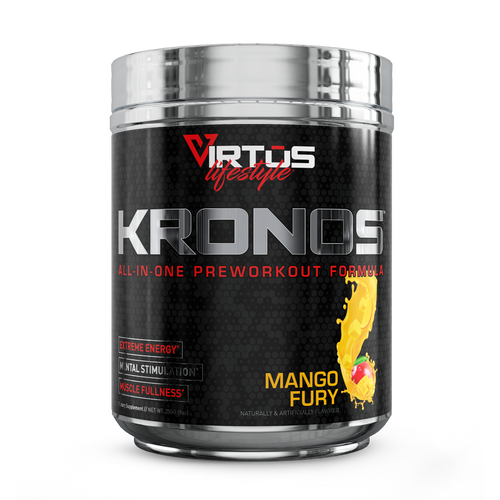 Virtus Nutrition - Kronos™ All-In-One Pre-Workout - Mango Fury - 255g (9oz)