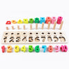 Montessori Math Shapes Puzzle Toys 2 in 1