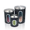 Stainless Steel Canister Sets -Set of 3