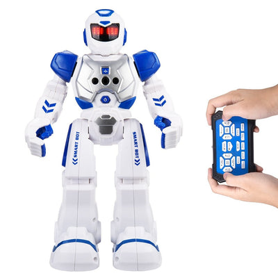 Remote Control Robot Toy for Children - Walks, Talks, Dances, Plays Songs, Programable, Fun and Educational