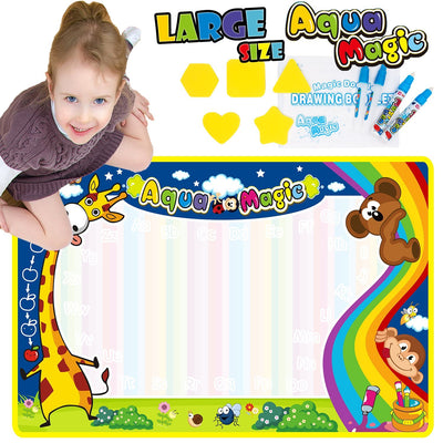 Kids Aquadoodle Drawing Mat Painting Pad