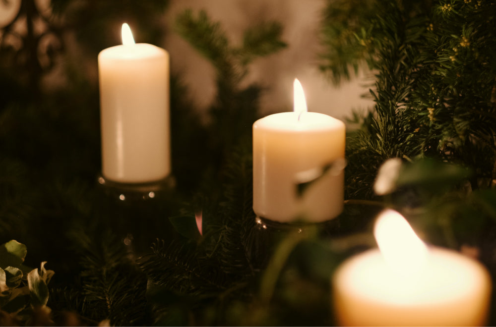 Save electricity while having a romantic candle-lit evening | Talsam