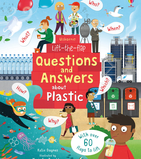 Book Review: Lift the flap - Questions & Answers about Plastic