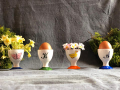 Personalised kids egg cup