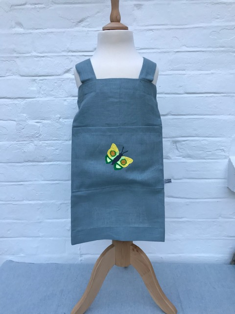 Children's Linen Apron