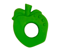 Natural Rubber Apple Baby Teether - PomPom