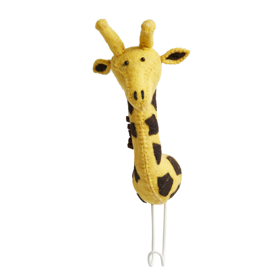 Giraffe Wall Hook - PomPom