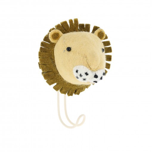 A Lion Wall Hook - PomPom