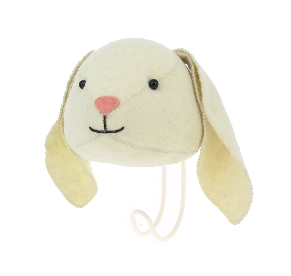 Rabbit Wall hook - PomPom