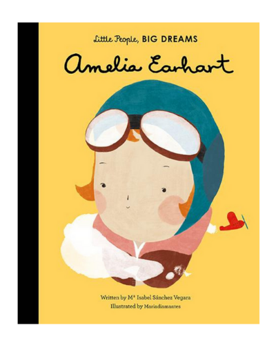 Amelia Earhart, Little People, Big Dreams