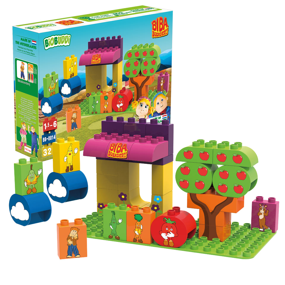Market Stall Building Blocks