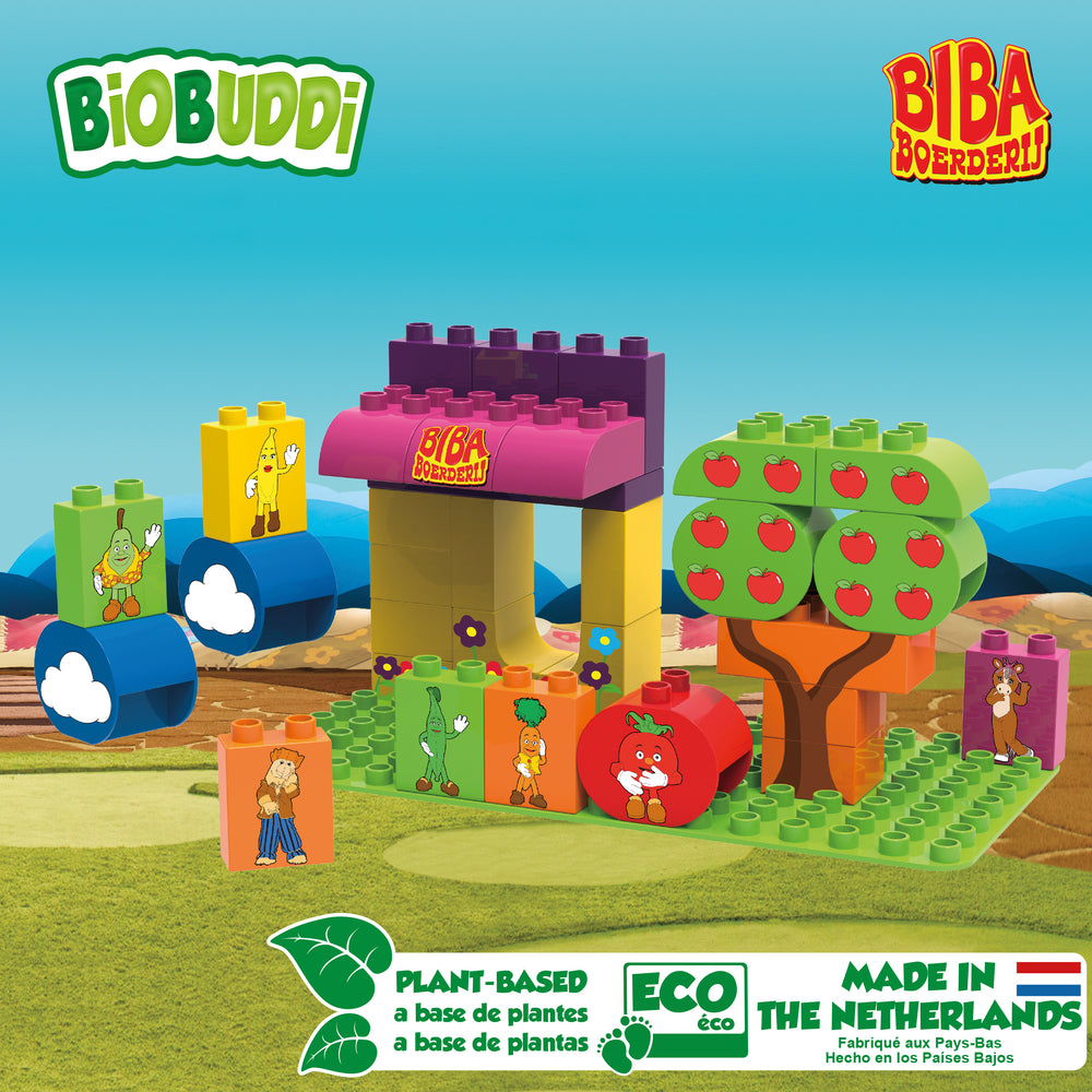 Market Stall Building Blocks - PomPom