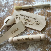 Personalised Baking Set - PomPom