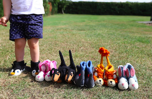 Rory Rabbit Children's Slippers