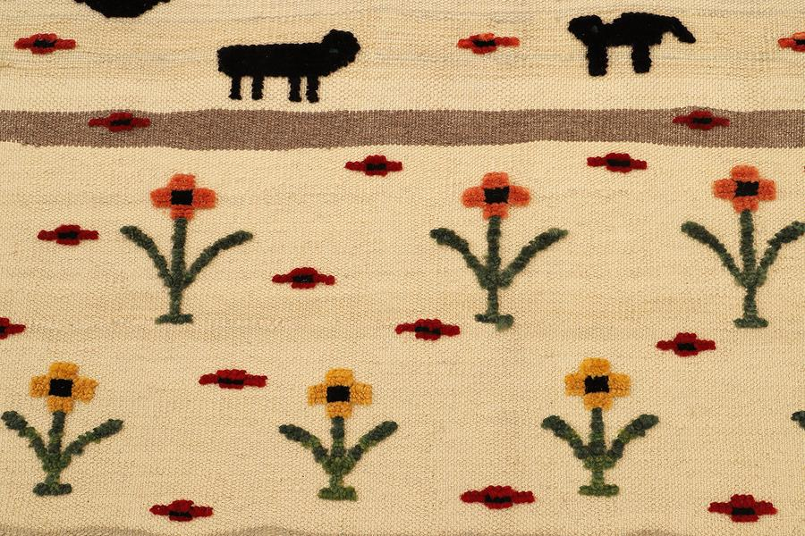Kids and Beasts Rug - PomPom