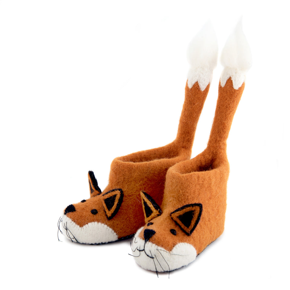 Finlay Fox Children's Slippers