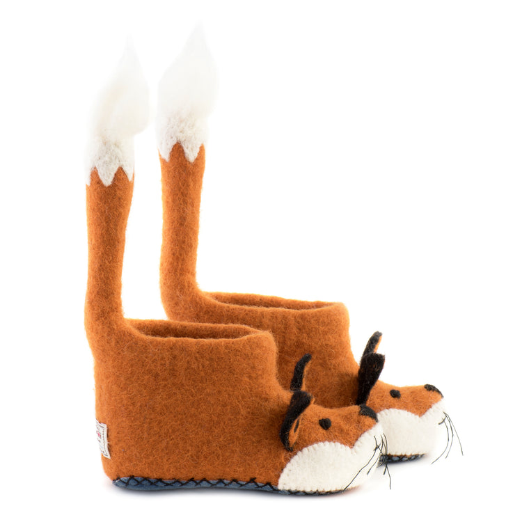 Finlay Fox Children's Slippers - PomPom
