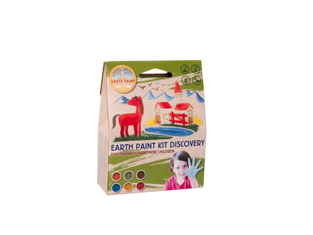 Natural Earth Paint - Discovery 1 litre kit - PomPom