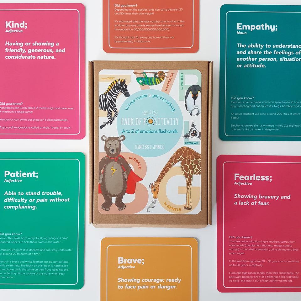 Little Pack of Positivity (Mindfulness Flash Cards) - PomPom
