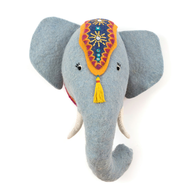 Jumbo the Elephant Animal Head - PomPom