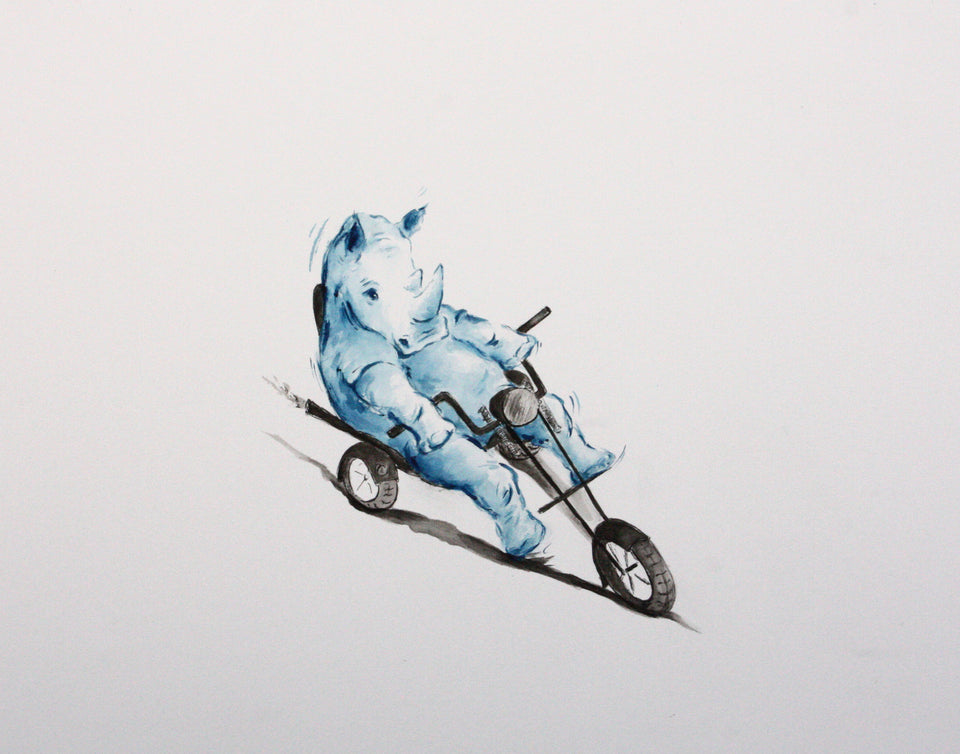 Action Animals - Limited Edition Prints - PomPom