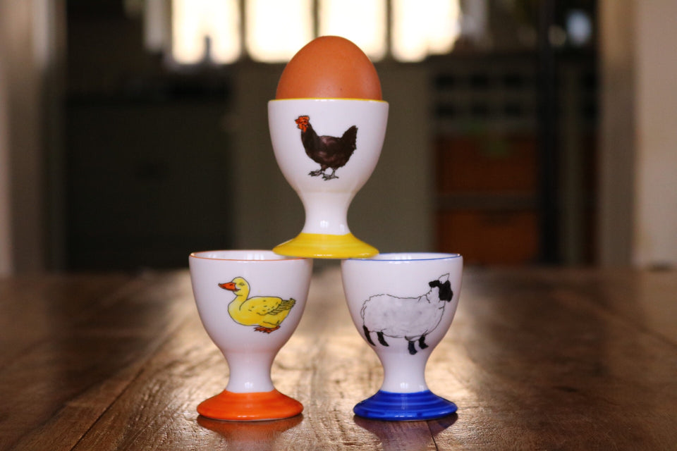 Personalised Egg Cups - PomPom