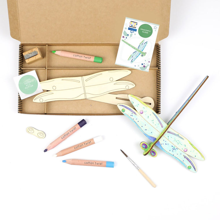 Make-Your-Own Dragonfly Glider Activity Kit