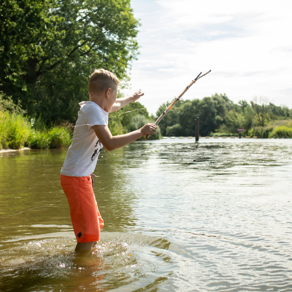 Child fishing rod