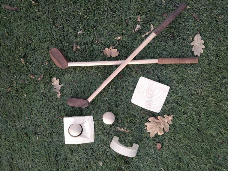 Wooden Toddler Golf Set