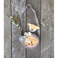 Deer Felt Bag & Purse