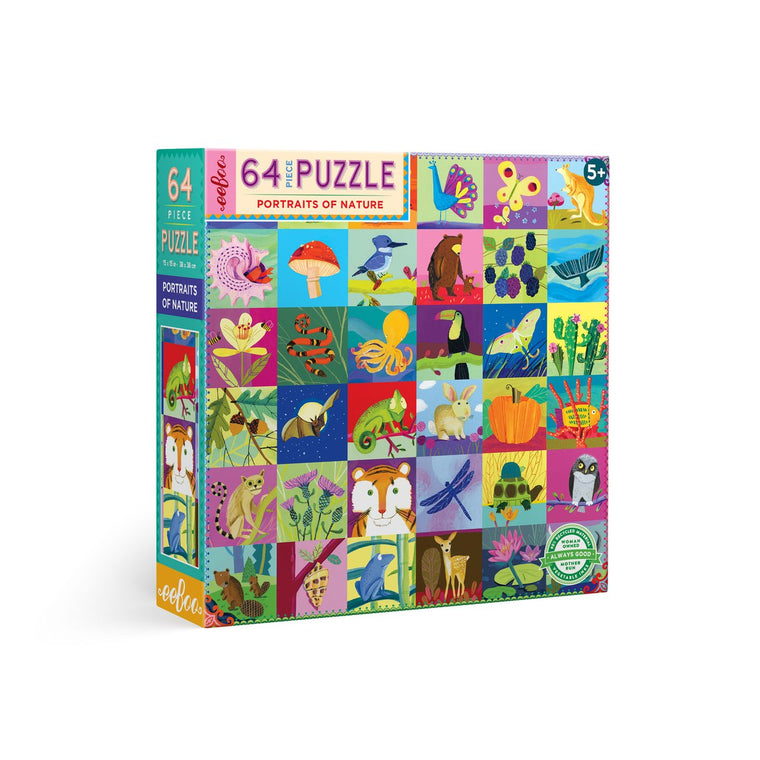 Portraits of Nature Jigsaw Puzzle