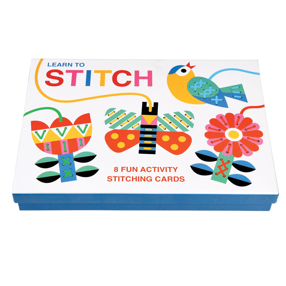 Learn to Stitch - Fun Stitching Cards - PomPom