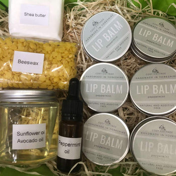 Peppermint Lip Balm Craft Kit