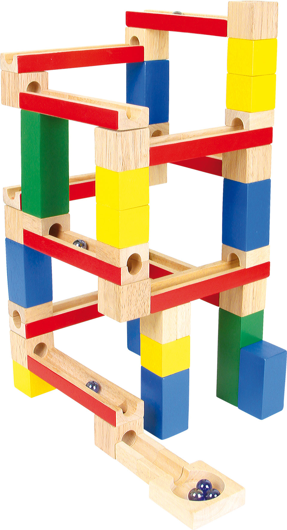 Wooden Marble Run - PomPom