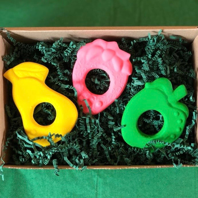 A Basket of Fruit - Baby Teethers - PomPom