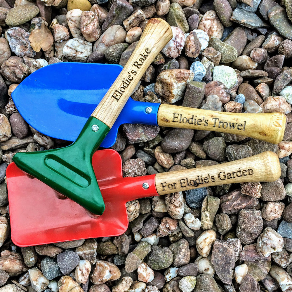 Personalised Gardening Tools - PomPom