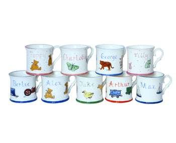 Personalised Children's Mugs - PomPom