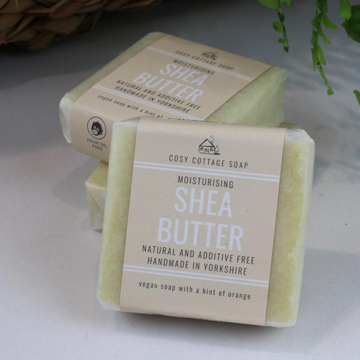 Solid Soap Bar - Moisturising Shea Butter Facial Soap