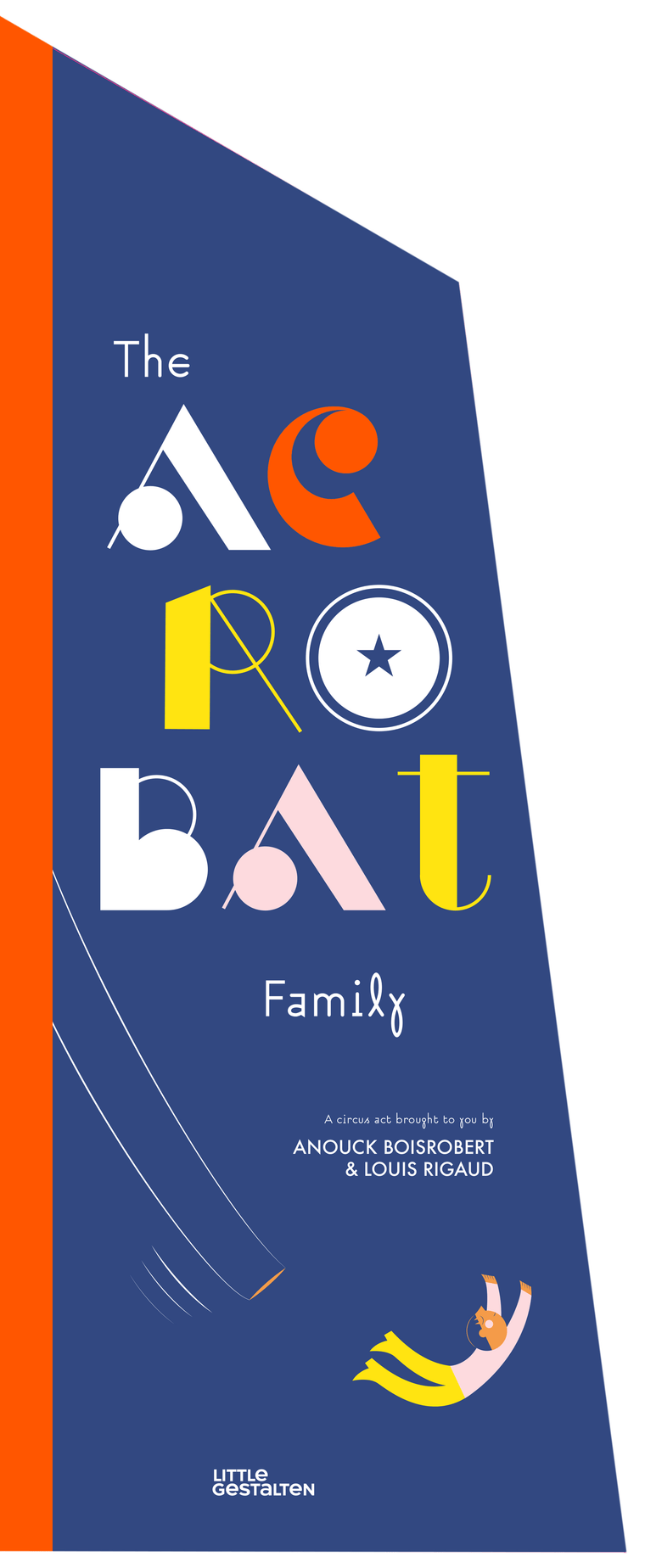 Acrobat Family Pop-Up Book