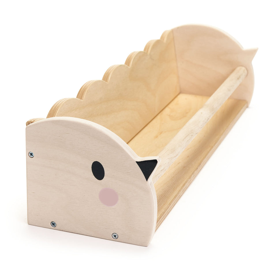 Birdie Wooden Book Shelf - PomPom