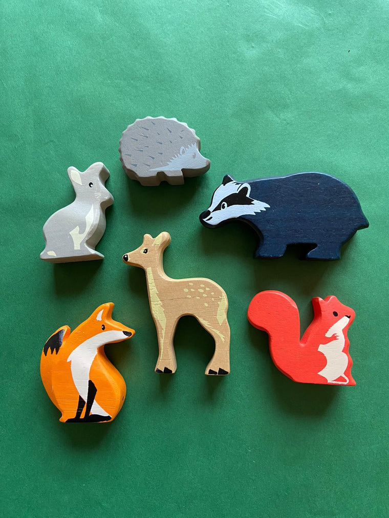 Woodland Animals Set of 6